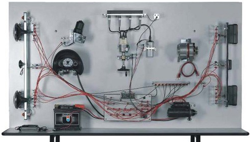 car wiring system teaching bench with electronic ignition unit rh trainingsystemsaustralia com au automotive wiring systems s.r.l automotive wiring systems (germany leonische drahtwirke ag) delhi (components)