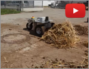 Innok Heros Robot - Pushing 30 kg of Hay